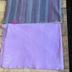 TWO Lululemon Towels